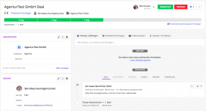 Deal Historie in Pipedrive