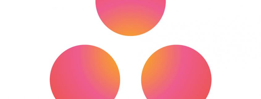 3 Punkte Asana Logo zur Integration in Pipedrive