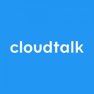 CloudTalk Logo zur VoIP Telefonie integriert in Pipedrive