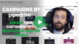 Newsletter mit Pipedrive
